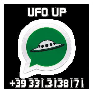 Servizio di segnalazione UFO su WhatsApp