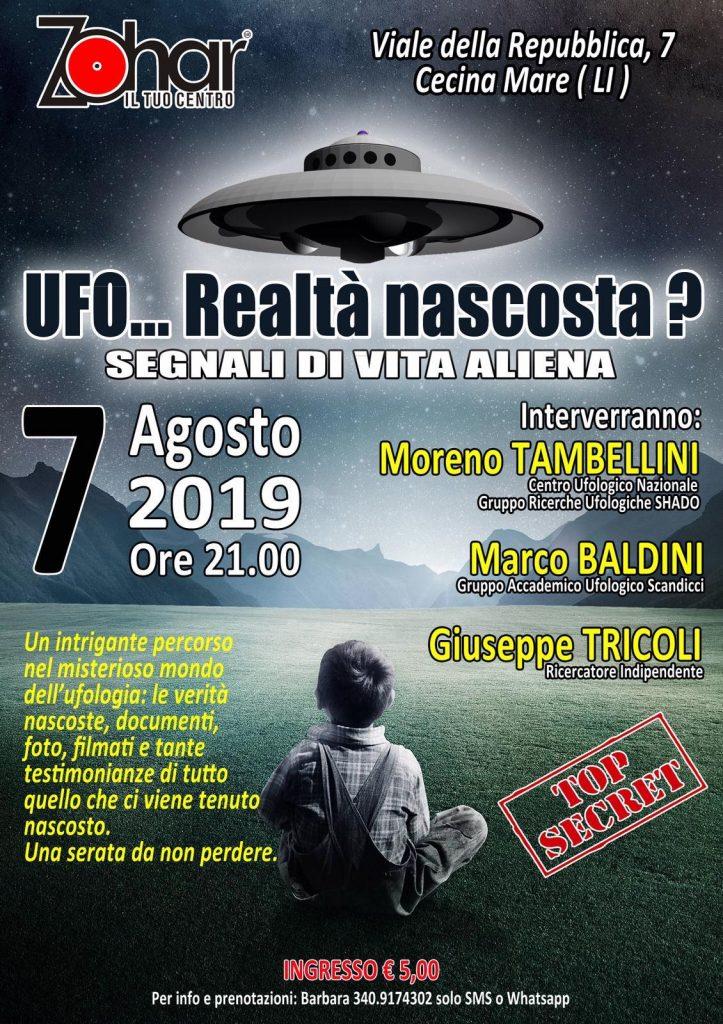 Locandina UFO ... Realtà nascosta?