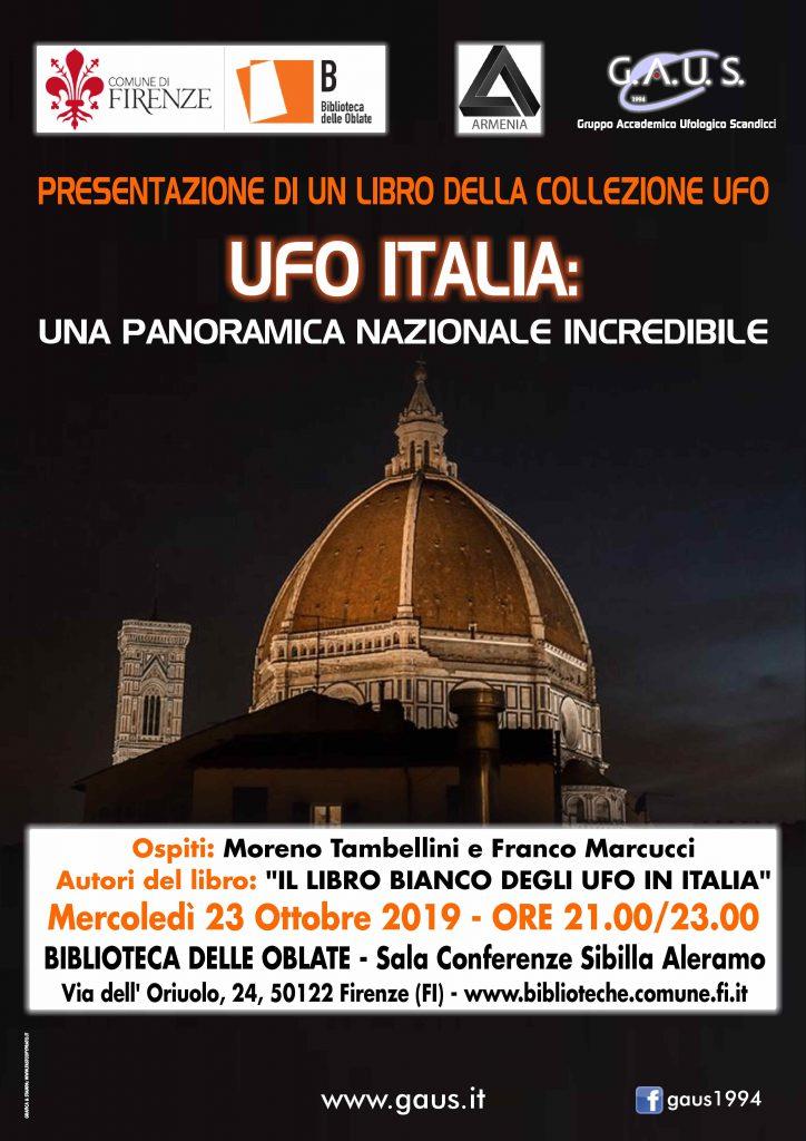 UFO ITALIA. Presentazione dei libri alle Oblate