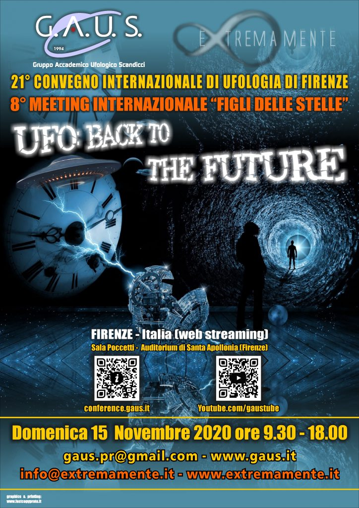 Locandina UFO: Back to the Future - fronte
