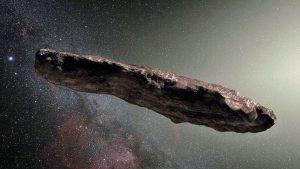 Oumuamua: un oggetto interstellare che ha visitato il Sistema Solare